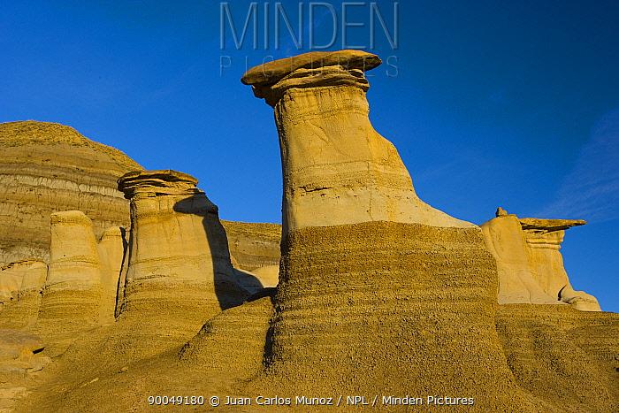 The Hoodoos, Drumheller Badlands, Alberta, Canada  -  Juan Carlos Munoz/ npl