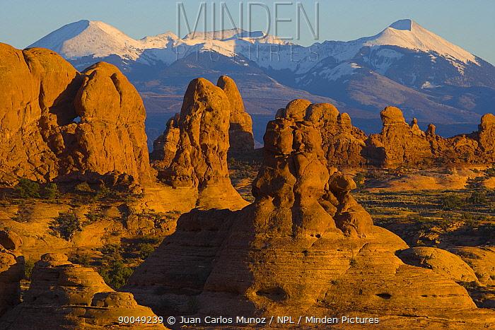 Arches NP, Utah, USA  -  Juan Carlos Munoz/ npl