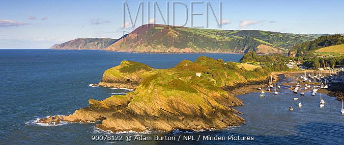 Watermouth in North Devon, England  -  Adam Burton/ npl