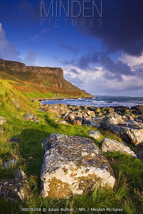 Murlough Bay and Fair Head on the Causeway Coast, County Antrim, Northern Ireland  -  Adam Burton/ npl
