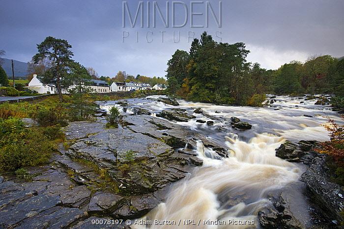 The Falls of Dochart, Highland, Scotland  -  Adam Burton/ npl