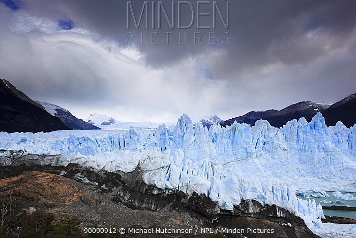 Perito Moreno Glacier, Los Glaciares National Park, Argentina February 2009  -  Michael Hutchinson/ npl