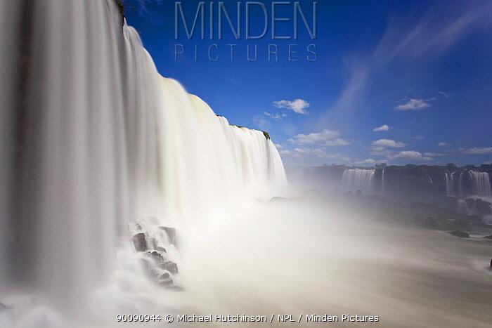 Waterfalls, Iguacu (Iguazu) National Park, Brasil  -  Michael Hutchinson/ npl
