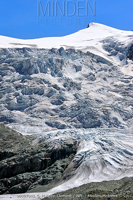 Moiry Glacier, Pennine Alps, Valais, Switzerland, July 2009  -  Philippe Clement/ npl