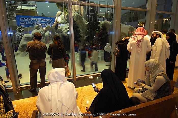 Inside the Snowdome, Dubai, United Arab Emirates, February 2007  -  Staffan Widstrand/ npl