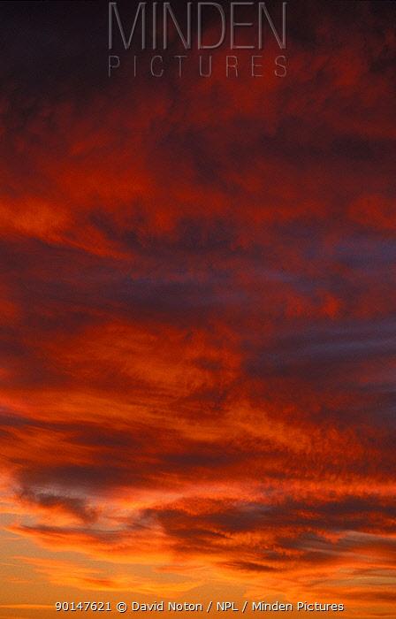 Sky, Cornwall, England, UK  -  David Noton/ npl