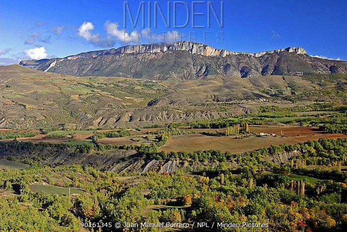 Saint Gervas mountain range Lerida, Spain  -  Juan Manuel Borrero/ npl