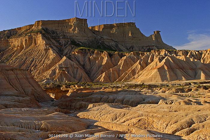 Bardenas Reales National Park, Navarra, Spain  -  Juan Manuel Borrero/ npl