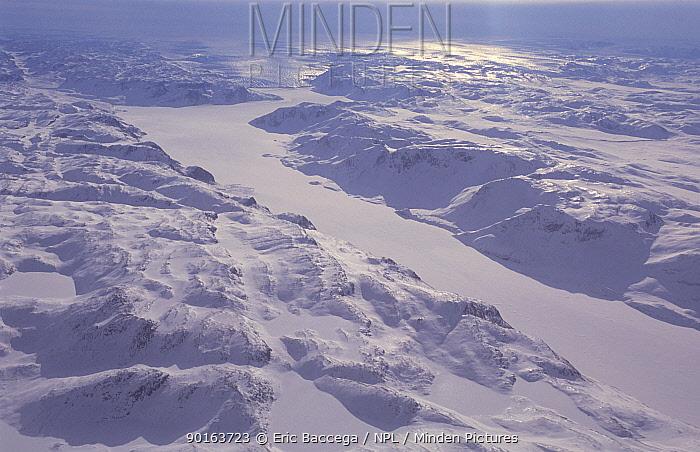 Ice field, Disko Bay, Greenland  -  Eric Baccega/ npl