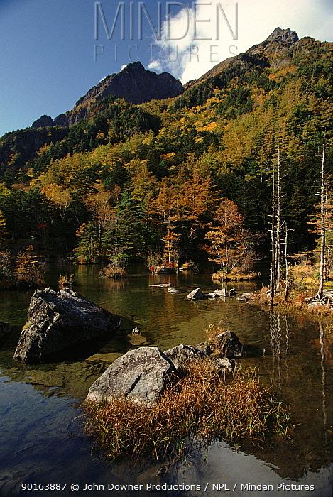 Shokawa, Northern Alps, Japan, Asia  -  John Downer/ npl