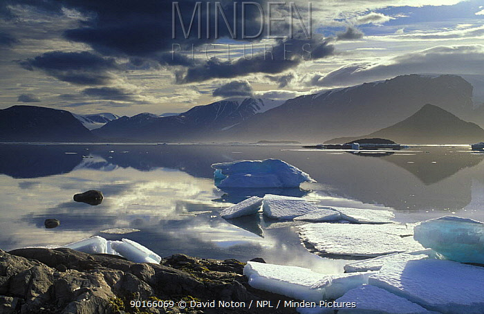 Alexandra Fjord, Ellesmere Island, Canada  -  David Noton/ npl