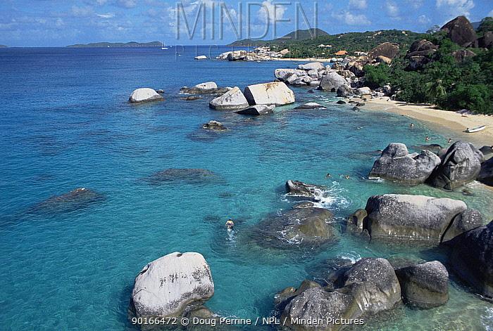 The Baths', Virgin Gorda, Virgin Is, Caribbean  -  Doug Perrine/ npl