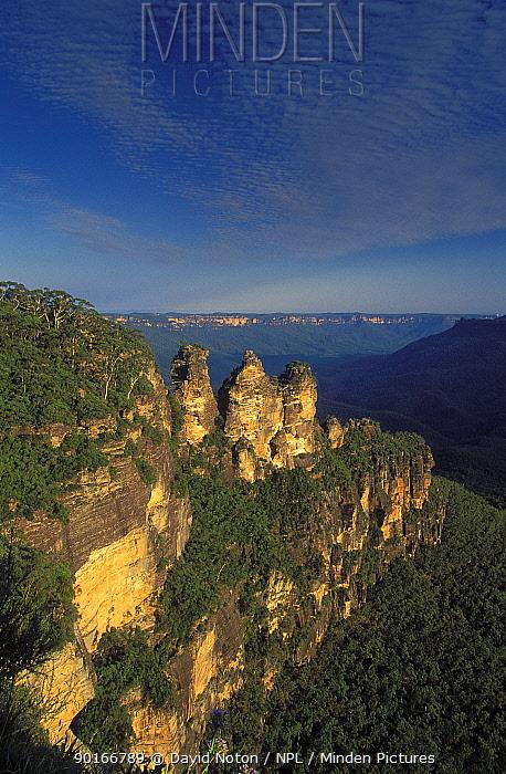 Three Sisters, Blue Mountains, New South Wales, Australia  -  David Noton/ npl