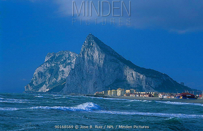 Rock of Gibraltar Linea de la Concepcion Spain  -  Jose B. Ruiz/ npl