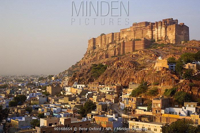 Mehrangarh Fort, Jodhpur Rajasthan, India 2006  -  Pete Oxford/ npl