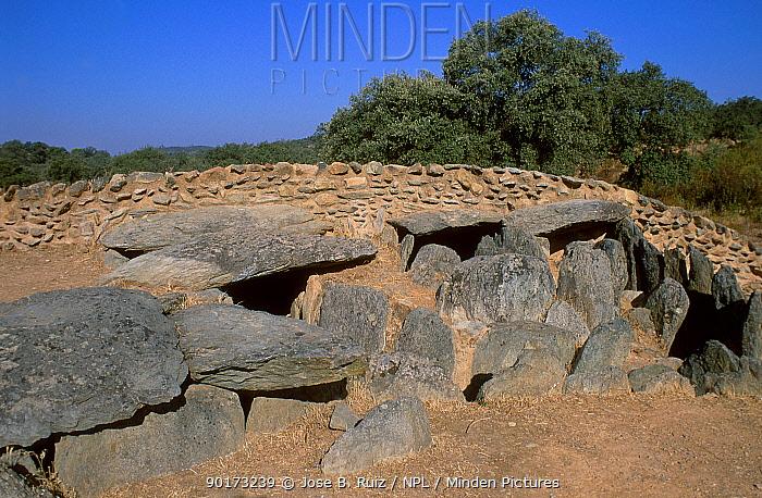 Ancient stone dwelling Huelva Spain  -  Jose B. Ruiz/ npl