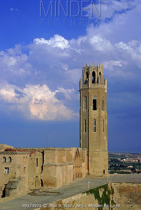 Ancient cathedral, Lerida, Spain, Europe  -  Jose B. Ruiz/ npl