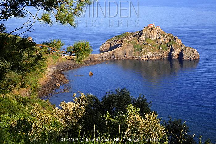 San Juan de Gaztelugatxe, Vizcaya, Basque country, Europe  -  Jose B. Ruiz/ npl