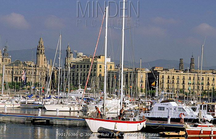 Old Harbour, Barcelona, Spain  -  Jose B. Ruiz/ npl