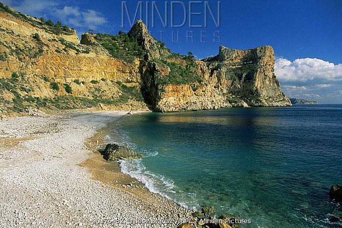 Los Tiestos beach, Benitachell, Alicante, Spain  -  Jose B. Ruiz/ npl