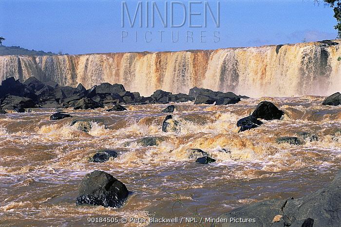 Fourteen Falls near Thika, Kenya  -  Peter Blackwell/ npl