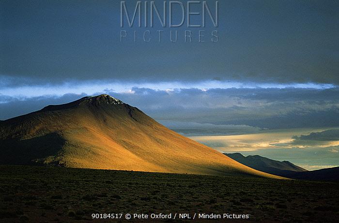 Andes scenic, Bolivia  -  Pete Oxford/ npl