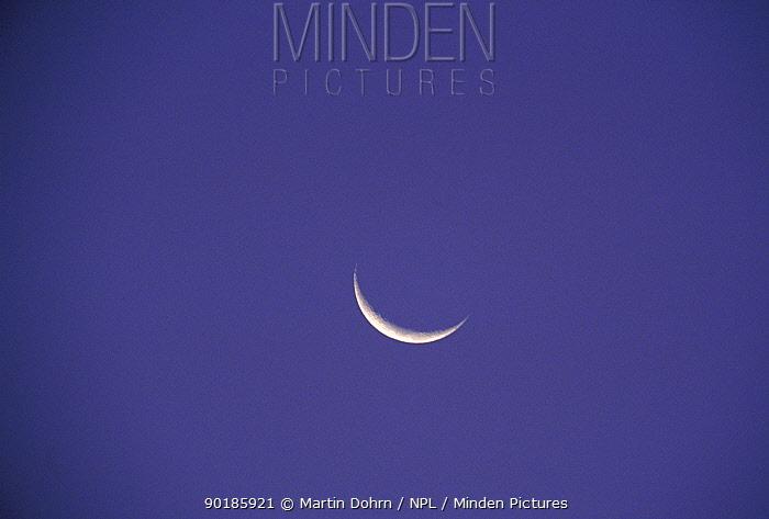 Crecent Moon in the sky  -  Martin Dohrn/ npl