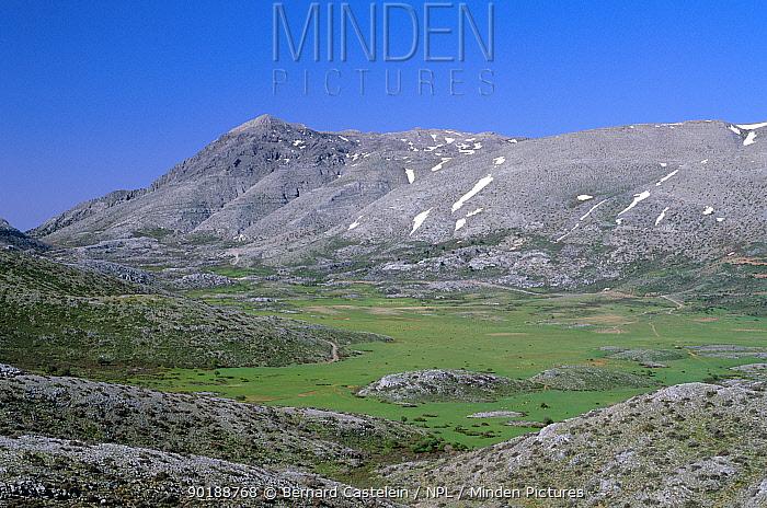 Nidas plateau in the Psiloritis mountains (alt 1,400m) Crete, Greece  -  Bernard Castelein/ npl