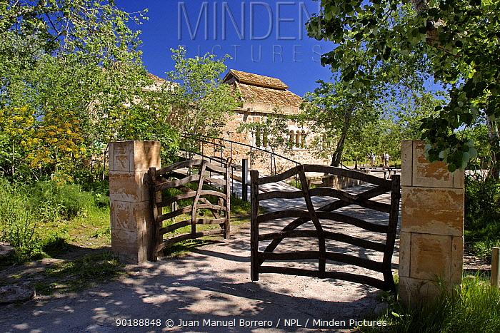 Traditional farm, Albufera Natural Park Majorca, Balearic Is, Spain  -  Juan Manuel Borrero/ npl