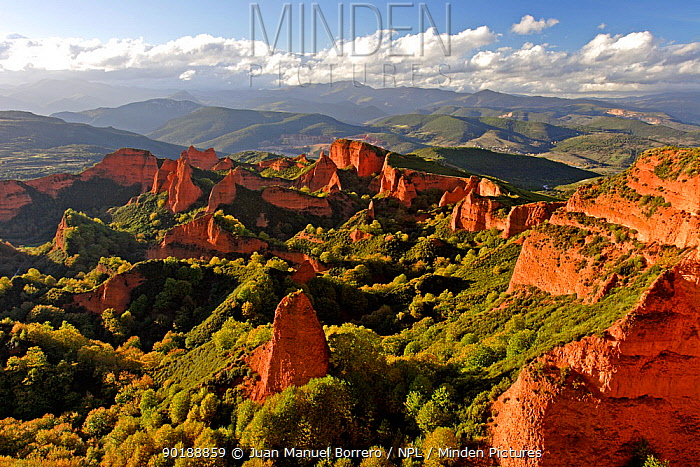 Las Medulas Natural Park, Le?n, Spain  -  Juan Manuel Borrero/ npl
