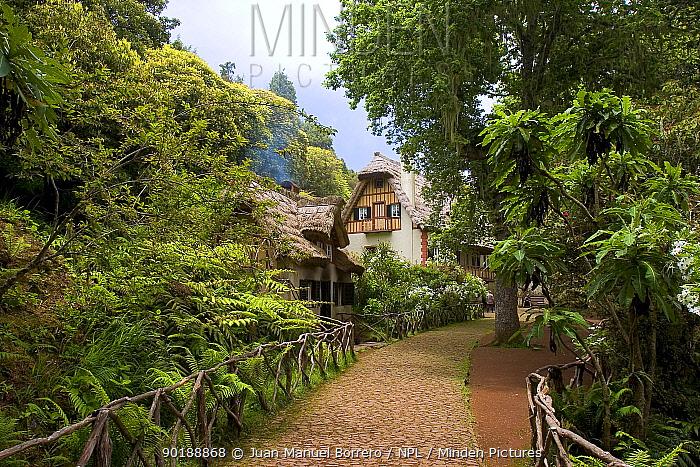 Traditional house in Queimadas Natural Park, Madeira  -  Juan Manuel Borrero/ npl