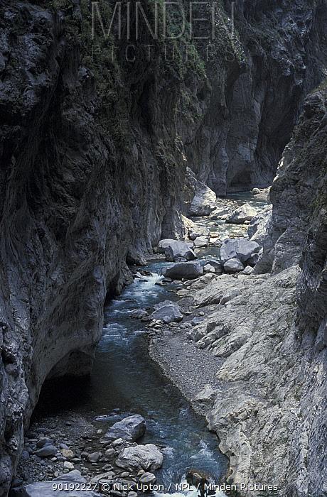 Taroko gorge, Taiwan  -  Nick Upton/ npl