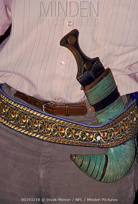 Horn Minden minden pictures stock photos rhino horn dagger yemen vivek