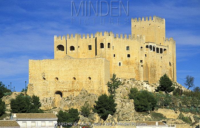 Castle, Almeria, Andalucia, Spain  -  Jose B. Ruiz/ npl