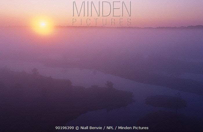Endla NR at dawn Estonia  -  Niall Benvie/ npl