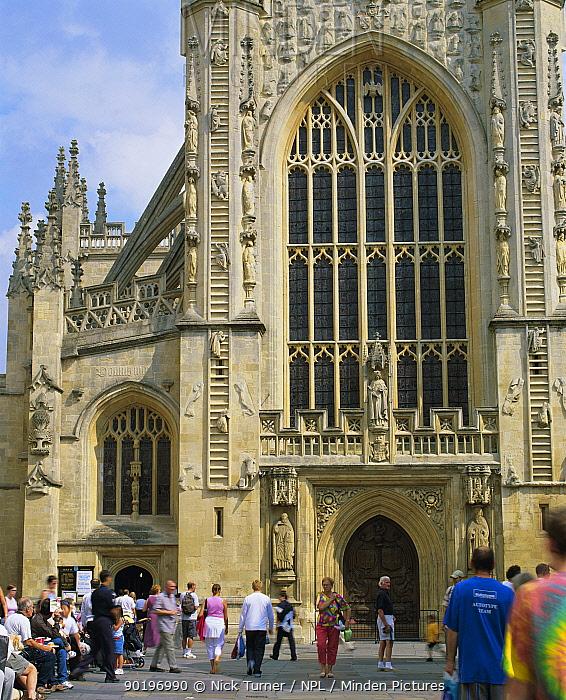 Bath Abbey, Somerset, UK 2003  -  Nick Turner/ npl
