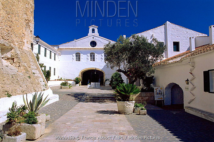 Church, Mare de Deu, Monte Toro, Minorca, Balearic Is, Spain  -  Francis Abbott/ npl