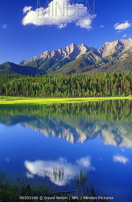 Dog Lake, Kootenay National Park, British Columbia, Canada  -  David Noton/ npl