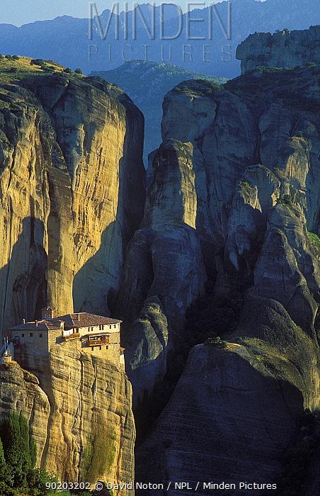 Roussanou Monastery, Meteora, Greece  -  David Noton/ npl