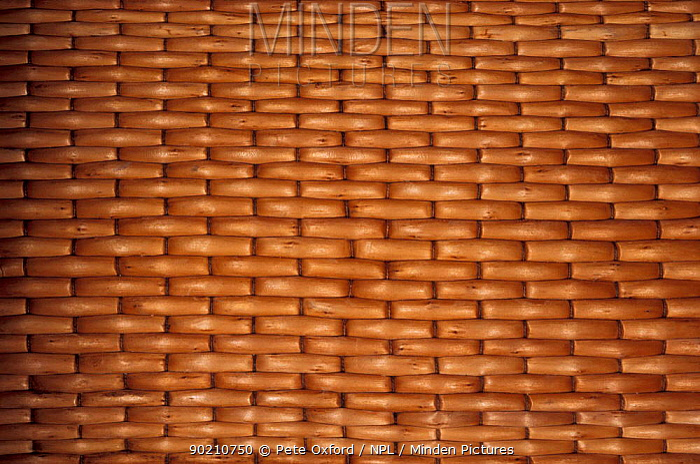 Basket weave, China  -  Pete Oxford/ npl