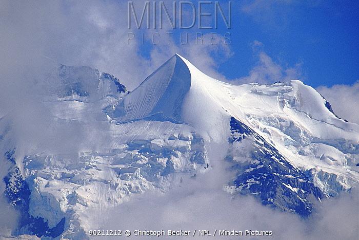 View of Siberhorn in the Swiss Alps Bernese Oberland, Switzerland, Europe  -  Christoph Becker/ npl