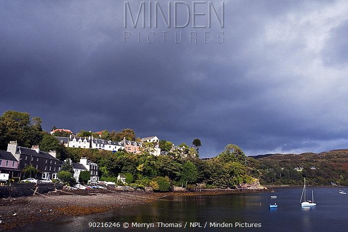 Portree Town, Isle of Skye, Scotland September 2010  -  Merryn Thomas/ npl