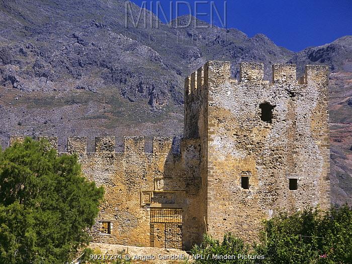 Castle of Frangocastelo, Crete, Greece  -  Angelo Gandolfi/ npl