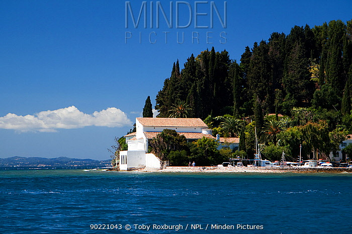 Minden Pictures stock photos - The Agnelli villa and 11th ...