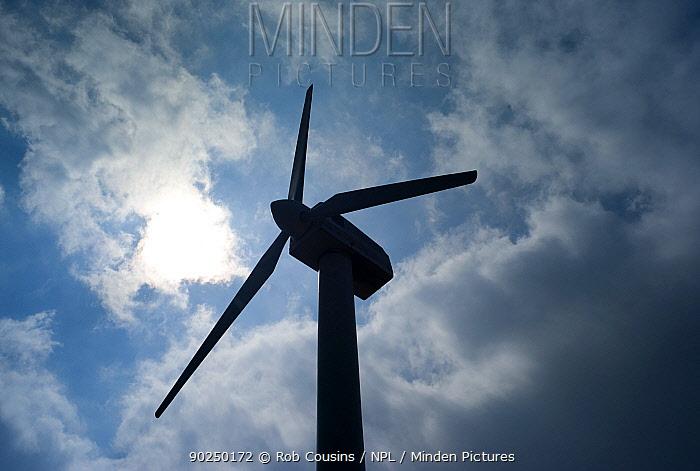 Wind turbine, Spain, May 2011  -  Rob Cousins/ npl