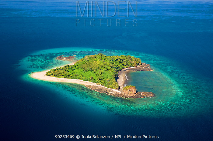 Nosy Tanikely, an island near near Nosy Be North Madagascar, Africa, June 2007  -  Inaki Relanzon/ npl