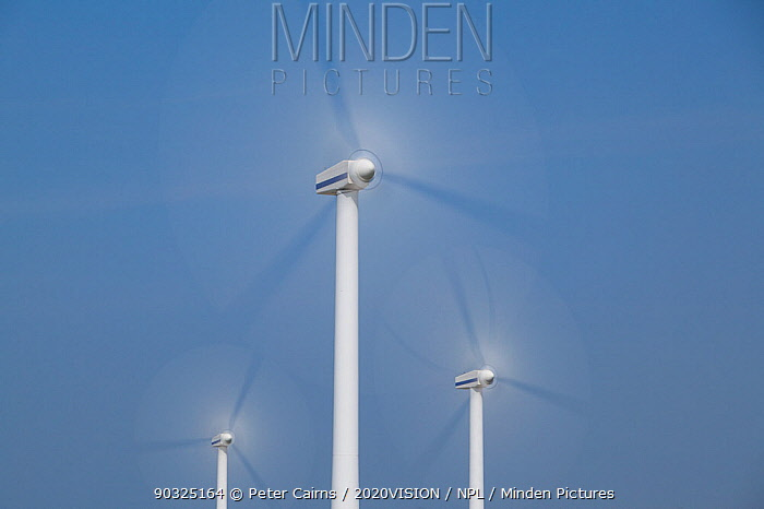 Robin Rigg windfarm, Workington, Solway Firth, Cumbria, UK, April 2011  -  Peter Cairns/ 2020V/ npl