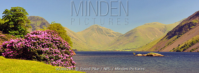 Wast Water landscape, Wasdale Cumbria, May 2009  -  David Pike/ npl