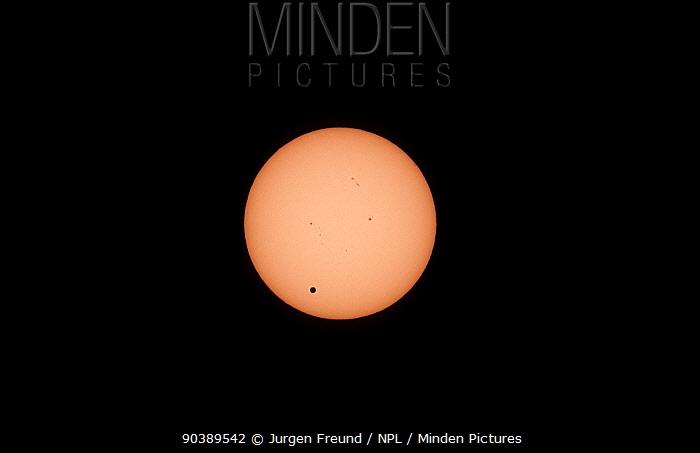 Transit of Venus, as seen from North Queensland, Australia, 6th June 2012 at 943  -  Jurgen Freund/ npl