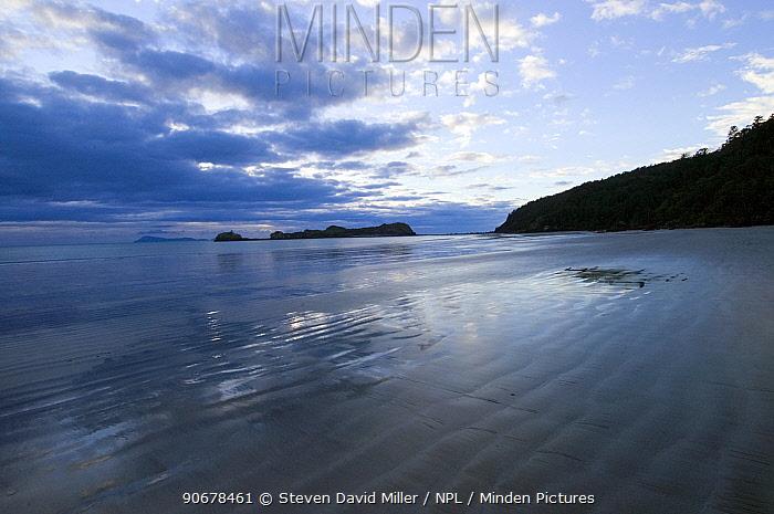 Coastal view, Cape Hillsborough National Park, Queensland, Australia  -  Steven David Miller/ npl